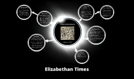 Elizabethan Times - Crimes and Punishments