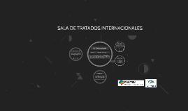 Sala de Tratados Internacionales