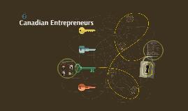Canadian Entrepreneurs