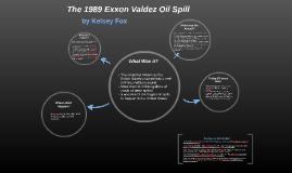 1989 Exxon Valdez Oil Spill