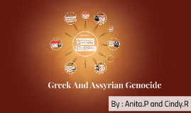 Greek and Assyrian Genocide