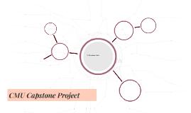 CMU Capstone Project