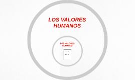 LOS VALORES HUMOS