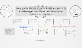 Dans quelle mesure le couronnement impérial de Charlemagne p
