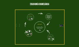 ERGONOMÍA BIOMECÁNICA