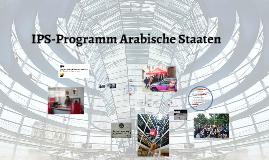 Copy of IPS-Programm für Arabische Staaten