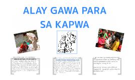 Copy of ALAY GAWA PARA SA KAPWA
