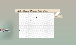 Role-play in History Education