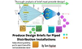 PDS - Produce Design Briefs for Piped Distribution Installations