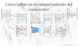 Cómo influir en el comportamiento del consumidor