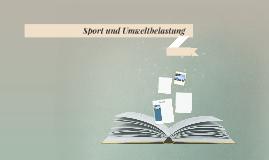 Sport und Umweltverschmutzung