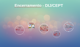 Encerramento - DIJ/CEPT