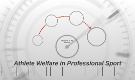 Athlete Welfare in Professional Sport