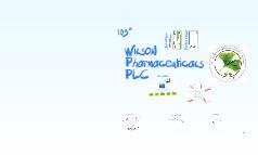 Wilson Pharmaceuticals PLC