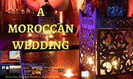 A Moroccan Wedding