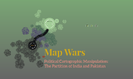 Political Cartographic Manipulation