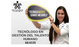 Copy of tecnologo en gestion del talento humano