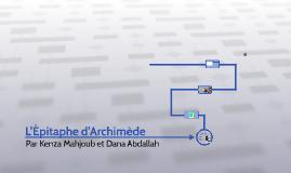 L'Épitave d'Archimède