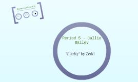 Period 5 - Callie Bailey