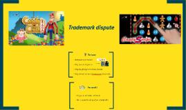 Trademark dispute