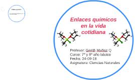 Copy of enlaces quimicos en la vida cotidiana