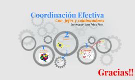 Coordinación Efectiva