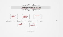 Copy of Tidslinje de sidste istider