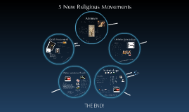 Copy of 5 New Religious Movements