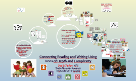 Copy of Copy of Copy of Connecting Reading and Writing Using Icons of Depth and Comp