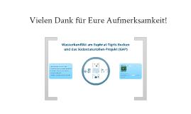 Euphrat-Tigris-Wasserkonflikt und das GAP-Projekt