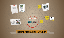 SOCIAL PROBLEMS IN TULUA