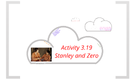 SB Level 1 Activity 3.19 - Stanley & Zero