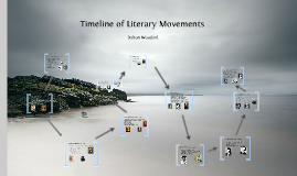 Timeline of Literary Movements