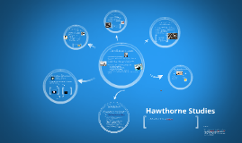 Copy of Hawthorne Studies