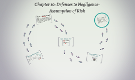 Chapter 10: Defenses to Negligence-