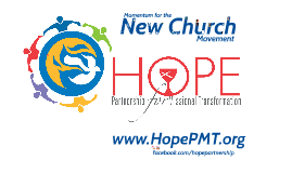 Momentum for the New Church Movement