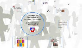 """JORNADA DE CONVIVENCIA ESCOLAR """"JOCE 2015"""""""