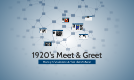 1920's Meet & Greet