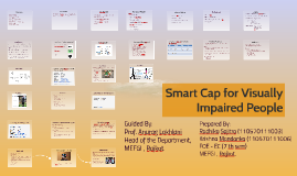 Copy of Smart cap for visually impired people