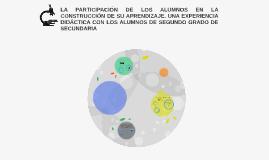 LA PARTICIPACIÓN DE LOS ALUMNOS EN LA CONSTRUCCIÓN DE SU APR