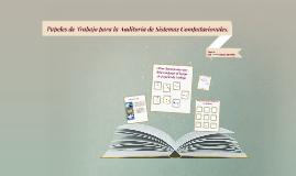 Copy of Copy of Papeles de Trabajo para la Auditoría de Sistemas Computacion