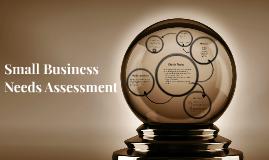 Small Business Needs Assessment