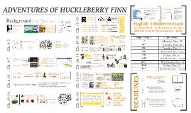Copy of E3: Adventures of Huckleberry Finn