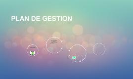 PLA DE GESTION