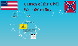 Causes of the Civil War-1861-1865