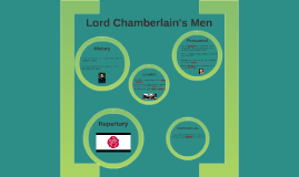 Copy of Lord Chamberlain's Men