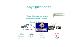 Lean & Agile Manufacturing in the Automotive Industry