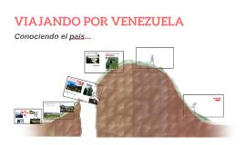 VIAJANDO POR VENEZUELA