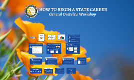 Create your CalCareer Account