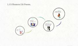 1.15 Honors Lit Poem.